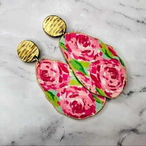 Lilly Pulitzer First Impression Hotty Earrings
